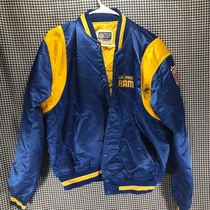 Vintage Los Angeles Rams NFL Satin Starter Jacket